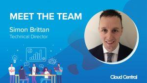 Cloud Central Meet the Team Simon Brittan
